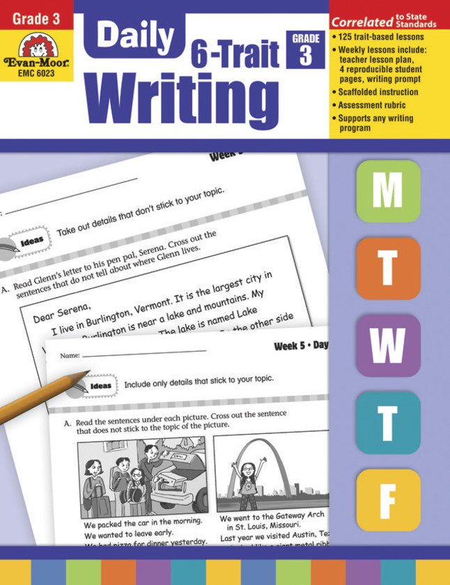 Writing Practice, Activities, Books Supplies, Item Number 1463233