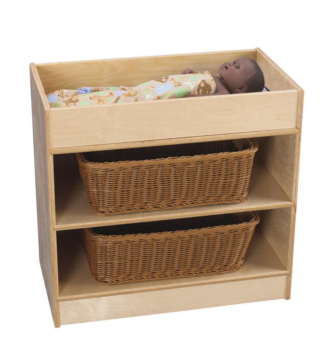 Childcraft Baby Doll Changing Table 25 5 8 X 14 1 4 X 24 Inches