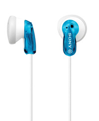Sony MDRE9LP/BLU Binaural Light-Weight Fashion Earbud, Blue Item Number 1464748