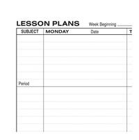 Lesson Plan Books, Item Number 1473693