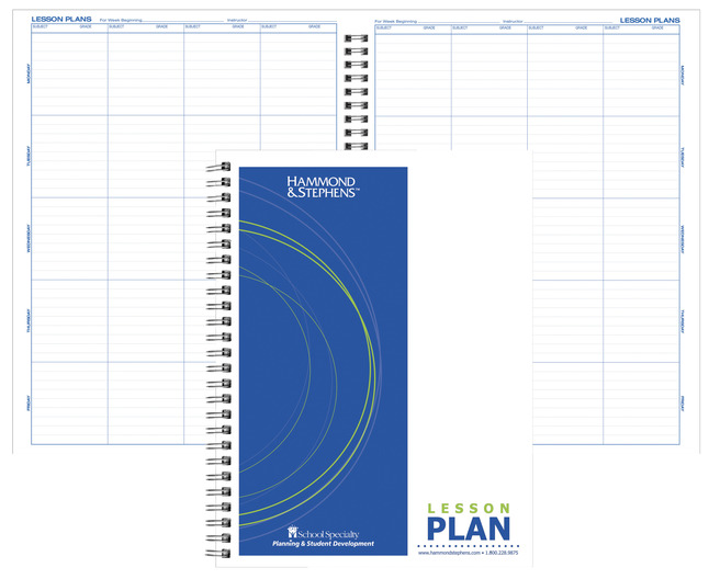 Lesson Plan Books, Item Number 1473694