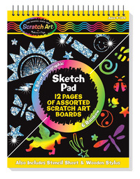 Scratch Art Paper, Scratch Art Boards, Scratch Art Sheets Supplies, Item Number 1474948