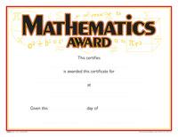 Award Certificates, Item Number 1475490