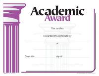 Award Certificates, Item Number 1475494