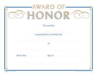Award Certificates, Item Number 1475501