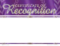 Award Certificates, Item Number 1475517