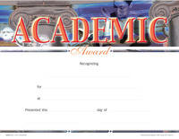 Award Certificates, Item Number 1475528