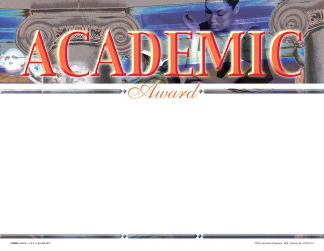Award Certificates, Item Number 1475529