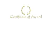 Award Certificates, Item Number 1475541