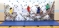 Image for Everlast 40 Foot Mountain Mural Traverse Wall Package from School Specialty