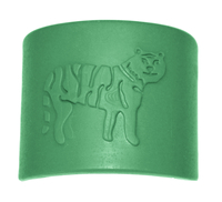 Sensory University Tiger Tactile Bracelet, Green Item Number 1481077