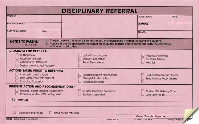 Parent and Teacher Communication Forms, Item Number 1481883