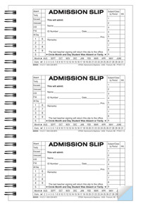 School & Hall Passes and Tardy Slips, Item Number 1481892