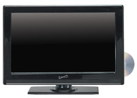 Supersonic SC-2412 24 in Combo LED Widescreen HDTV and DVD Player Item Number 1482578