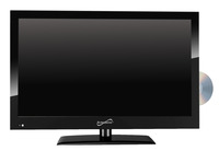 Supersonic SC-1912 19 in Combo LED Widescreen HDTV and DVD Player Item Number 1482579