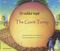 Image for Mantra Lingua The Giant Turnip, Czech and English from School Specialty