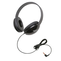 Califone Listening First Stereo Headphones, Black Item Number 1543910