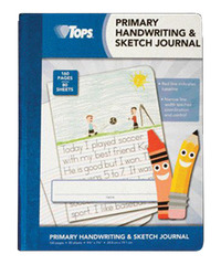 Tops Primary Journal for Handwriting and Sketching, 7-1/2 x 9-3/4 Inches, 80 Sheets Item Number 1494942