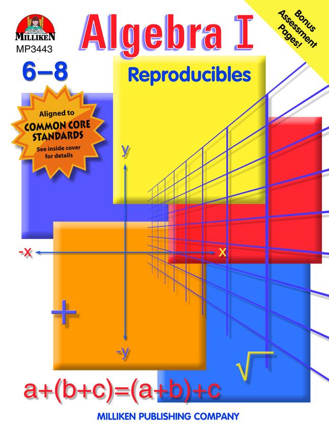 Milliken Publishing Algebra I Workbook, Grades 6 - 8