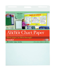 Chart Tablets, Chart Supplies, Item Number 1495762