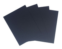 Crescent No. 8 Ultra-Black Mounting Board, 9 x 12 Inches, Pack of 40 Item Number 1496109