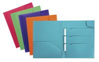 Poly Multi Pocket Folders, Item Number 1496273