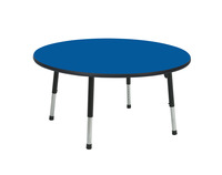 Classroom Select Apollo T-Mold Adjustable Table, Round, 42 Inches, Various Options Item Number 1496671
