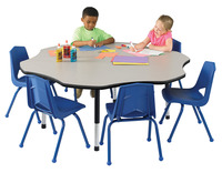 Classroom Select Apollo Activity Table, Flower, 60 Inches, Various Options Item Number 1496711