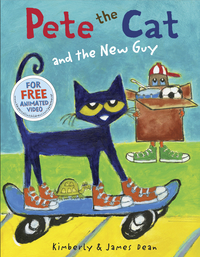 School Specialty Pete the Cat and the New Guy Item Number 1496863