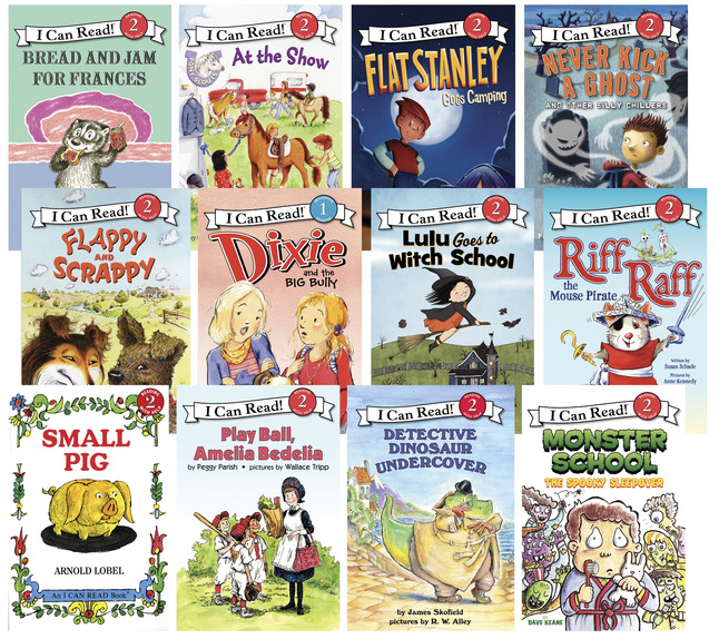 School Specialty I Can Read Level 2 Book Set Set Of 12