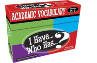 Vocabulary Games, Activities, Books Supplies, Item Number 1498848