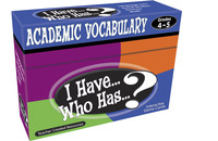 Vocabulary Games, Activities, Books Supplies, Item Number 1498850