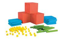 Base 10 Blocks, Place Value, Base 10, Base 10 Math Supplies, Item Number 1499097