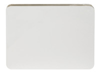 School Smart Dry-Erase Student Boards, Unruled, 9 x 12 Inches, White, Pack of 30 Item Number 1500335