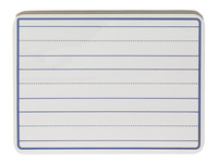 School Smart Dry-Erase Ruled Pupil Boards, 9 x 12 Inches, White, Pack of 30 Item Number 1500336