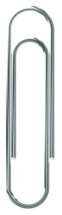 School Smart Smooth Paper Clip, Standard, 1-1/4 Inches, Steel, Pack of 1000 Item Number 1500600