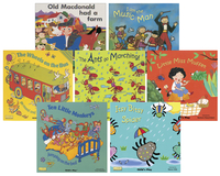 Childcraft Classic Book Set 1 with CD, 11-3/8 x 11-3/8 Inches, Set of 8 Item Number 1505016
