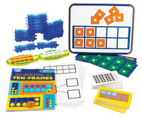 Base 10 Blocks, Place Value, Base 10, Base 10 Math Supplies, Item Number 1505053