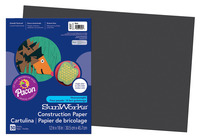 SunWorks Heavyweight Construction Paper, 12 x 18 Inches, Black, Pack of 50 Item Number 1506461