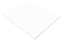 SunWorks Heavyweight Construction Paper, 18 x 24 Inches, Bright White, 50 Sheets Item Number 1506545