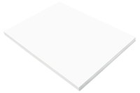 SunWorks Heavyweight Construction Paper, 18 x 24 Inches, Bright White, 100 Sheets Item Number 1506573