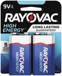 9V Batteries, Item Number 1507682