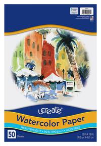 Watercolor Paper, Item Number 1508084