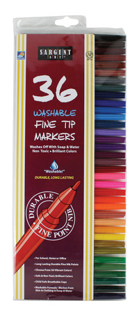 Washable Markers, Item Number 1510045