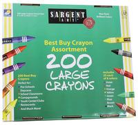 Standard Crayons, Item Number 1510048