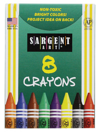 Standard Crayons, Item Number 1510050