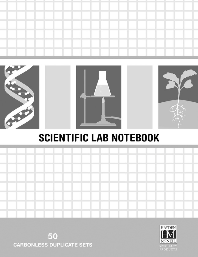 Image for Hayden-McNeil Scientific Spiral Bound Lab Notebook, 8-1/2 x 11 Inches, 50 Pages, Pack of 20 from School Specialty