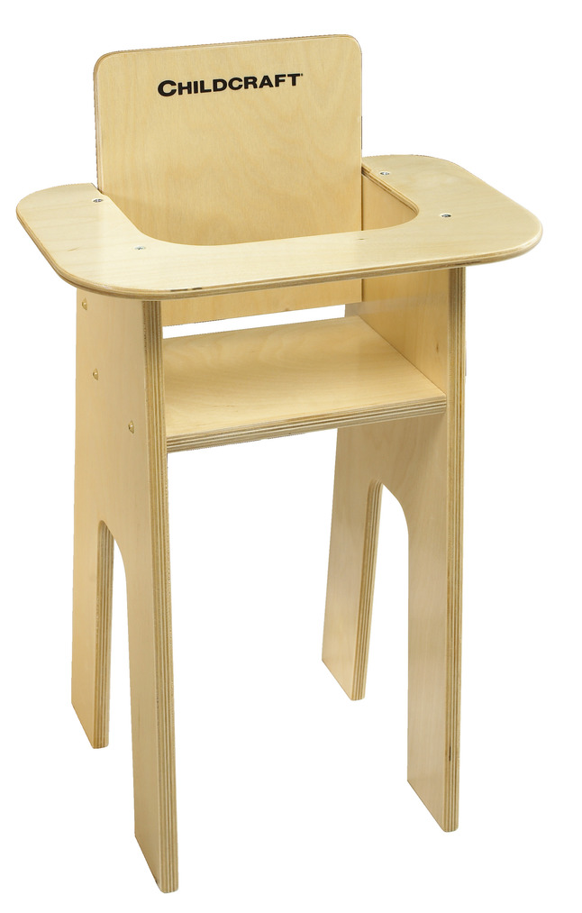 Outstanding Childcraft Baby Doll High Chair 14 1 2 X 11 5 8 X 24 1 8 Inches Caraccident5 Cool Chair Designs And Ideas Caraccident5Info