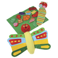 Marvel Education Co Butterfly and Props for Very Hungry Caterpillar, Set of 17 Item Number 1531962