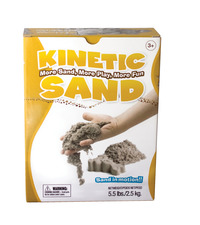 Relevant Play Kinetic Sand, 5-1/2 Pounds, Tan Item Number 1532155